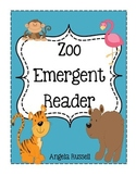 Zoo Emergent Reader - What Am I?