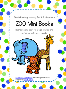 Zoo Emergent Readers