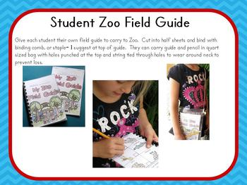 Zoo Field Guide and Animal Study