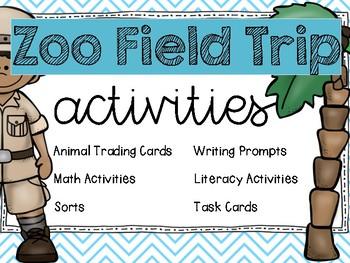 Zoo Field Trip Activities