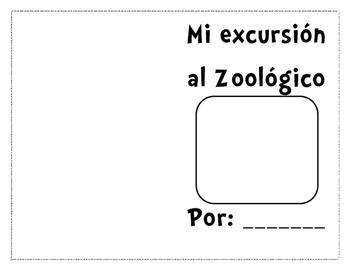 Zoo Field Trip Booklet (Spanish)
