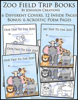 Zoo Field Trip Books