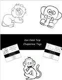 Zoo Field Trip Chaperone Tags