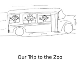 Zoo Field Trip Coloring Book