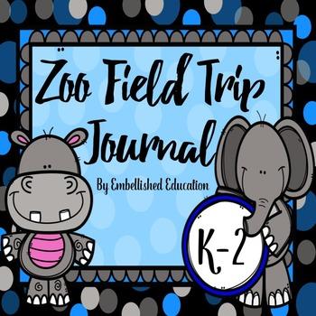 Zoo Field Trip Journal