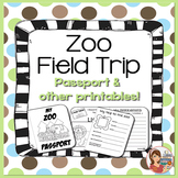 Zoo Field Trip Passport & Printables