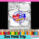Zoo Field Trip Poster Activity