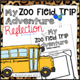 Zoo Field Trip Reflection Writing Activity & Thank You Note