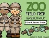 Zoo Field Trip Research Book
