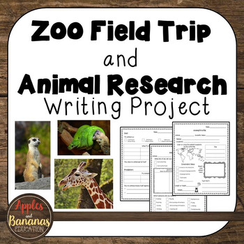 Zoo Field Trip and Animal Research Report Templates