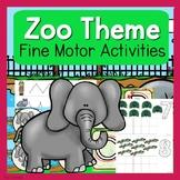 Zoo Fine Motor Activities - Zoo Activities