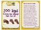 Zoo ASL Flashcards (English/Spanish with Shutterstock images)