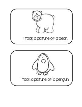 Zoo Freebie #4 - Ten Frame Monkey Cards