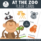 Zoo Friends Flash Cards