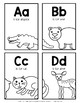 Zoo Friends Letter Cards {ABC Order}