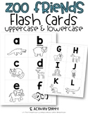 Zoo Friends Letter Flash Cards