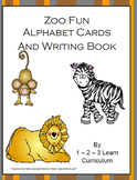 Zoo Fun Alphabet Cards and Writing Book