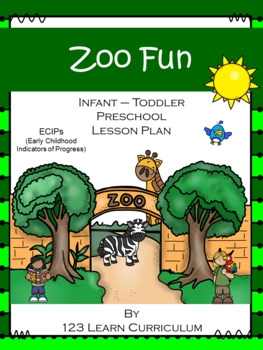 Zoo Fun Lesson Plan with ECIPs