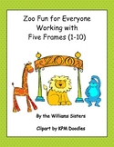 Zoo Fun for Everyone Working with Five Frames