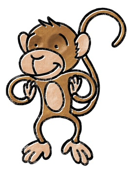 Zoo Graphics: Monkey