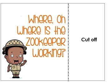 Zoo Interactive Book of Positional Phrases