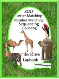 Zoo Animals Fine Motor Interactive Notebook Special Education Autism Resources