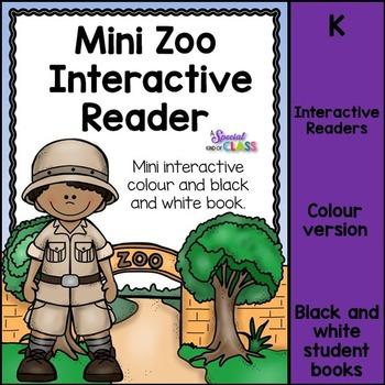 Zoo Interactive Mini-Book