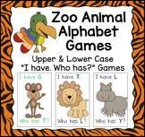 Zoo Animal I have. Who has? Alphabet Game Bundle