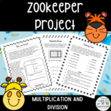 Zoo Keeper!  A Multiplication and Division Project
