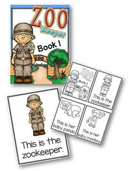 Adapted Books Zoo Keeper