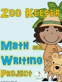 Zoo Keeper Math and Writing Project