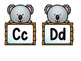 Zoo/Koala Theme Word Wall