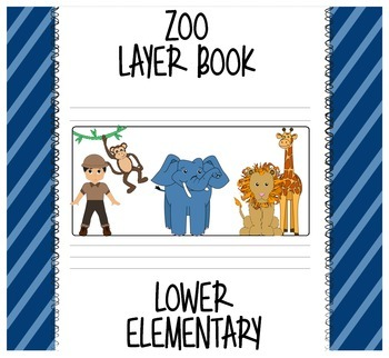 Zoo Layer Book - Lower Elementary