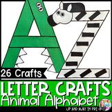 Zoo Letter Crafts - A-Z Bundle