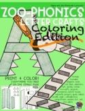 Zoo Letter Crafts - COLORING EDITION - A-Z Bundle