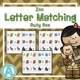 Zoo Letter Matching Busy Box