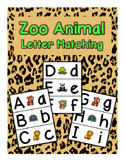 Zoo Letter Matching Cards - Set of 26