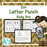 Zoo Letter Punch Busy Box