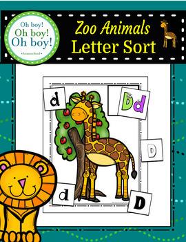 Zoo Letter Sort - S