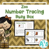 Zoo Letter Tracing Busy Box