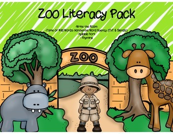 Zoo Literacy Center Pack