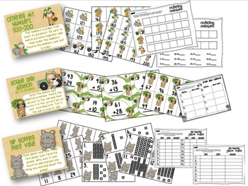 Zoo Literacy and Math Stations