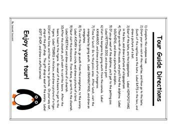 Zoo Map, Cardinal Direction Map Skills Zoo Map Directions Worksheet on zoo map handouts, food worksheet, mapping coordinates worksheet, zoo map rubric, directions worksheet, population density worksheet, calendar worksheet, plan your day worksheet, activities worksheet, history worksheet, event worksheet, animals worksheet, zoo map poster, zoo worksheets for kindergarten, home worksheet, scavenger hunt worksheet,
