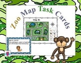 Zoo Map Cards