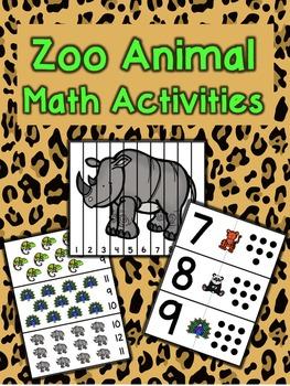 Zoo Math Activities