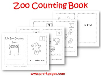 Zoo Math Activities for Pre-K and Kindergarten