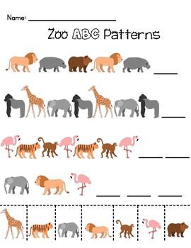 Zoo Math Bundle