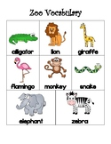 Zoo Math Bundle (Graphing, Word Problems, Vocab & MORE)