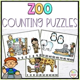 Zoo Math Center Counting Puzzles {FREEBIE}