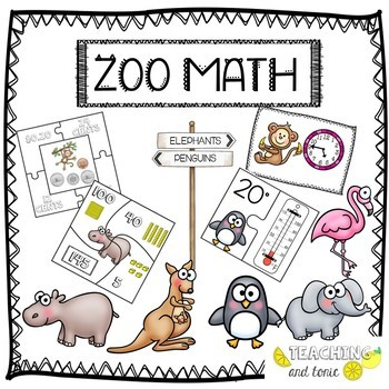 Zoo Math Centers